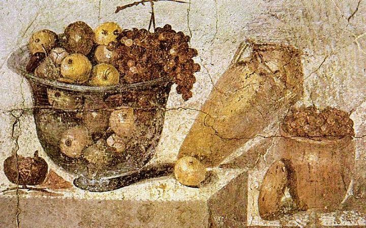 L 39 alimentazione dei pompeiani il cibo a pompei pompei for Cibi romani