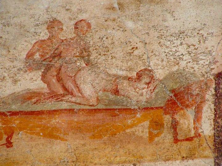 Vasca Da Bagno Pompeiana.Terme Suburbane Pompei Online Net
