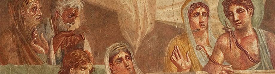 Pompeii Ruins Houses